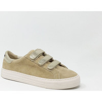 Chaussures Baskets basses No Name ARCADE STRAPS SUEDE Beige