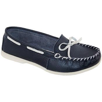 Chaussures Femme Mocassins Suredelle 30085 bleu marine