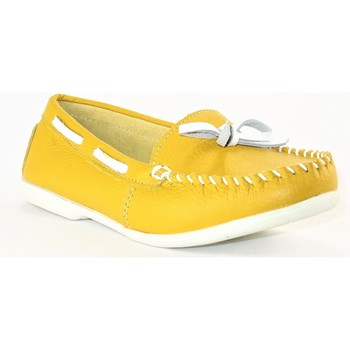 Chaussures Femme Mocassins Suredelle 30085 MOUTARDE