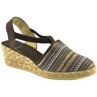 Chaussures Femme Espadrilles Cbp - Conbuenpie  Marron