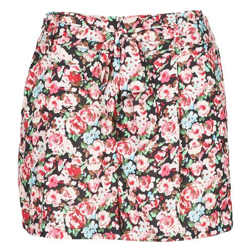 Vêtements Femme Shorts / Bermudas Betty London OULALA Noir / Rose