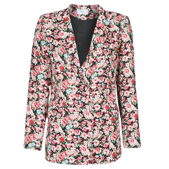 Vêtements Femme Vestes / Blazers Betty London OBIMBA Noir / Rose