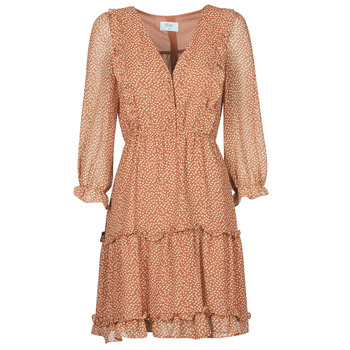 Vêtements Femme Robes courtes Betty London OBELLA Rouille