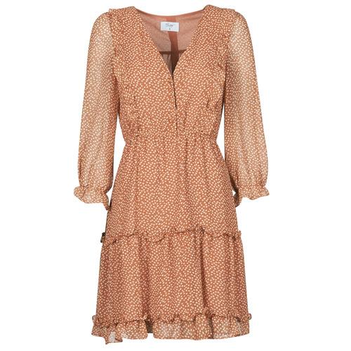Vêtements Femme Robes courtes Betty London OBELLA Rouille