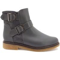 Chaussures Femme Bottines Gasymar 9927 Gris