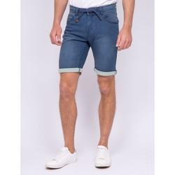 Vêtements Homme Shorts / Bermudas Ritchie Bermuda en jean BRICO Bleu clair