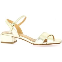 Chaussures Femme Sandales et Nu-pieds Pao Nu pieds cuir Or