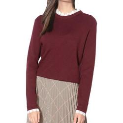 Vêtements Femme Pulls Vila 14054776 Rouge