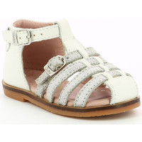 Chaussures Fille Sandales et Nu-pieds Aster Nini BLANC