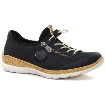 Chaussures Femme Baskets basses Rieker N4263-14 BLUE