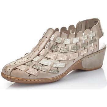 Chaussures Femme Slip ons Rieker 47156-43 grey