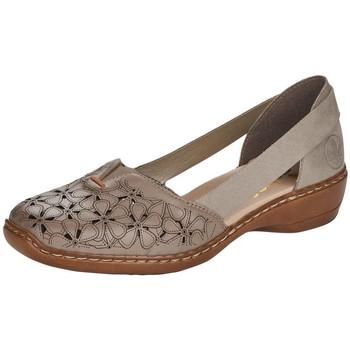 Chaussures Femme Ballerines / babies Rieker 41356-64 BEIGE