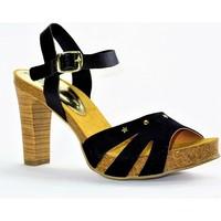 Chaussures Femme Sandales et Nu-pieds Carla Tortosa 72104 NOIR