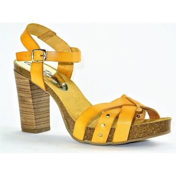Chaussures Femme Sandales et Nu-pieds Carla Tortosa 7144 JAUNE