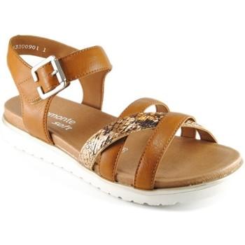 Chaussures Femme Sandales et Nu-pieds Remonte Dorndorf D4052-25 BROWN
