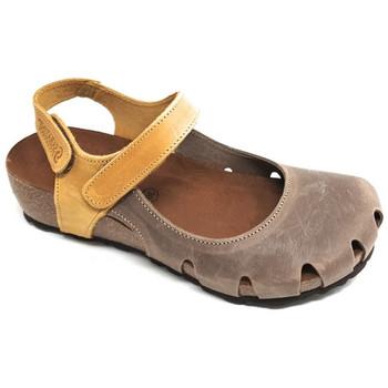 Chaussures Femme Sandales et Nu-pieds Sabatini BOIS DE SANTAL  - 4009 OCRE Multicolor