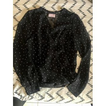 Vêtements Femme Chemises / Chemisiers Moony Mood Blouse à pois Moony Mood Noir