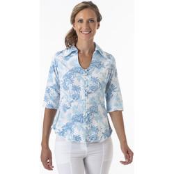 Vêtements Femme Chemises / Chemisiers La Cotonniere CHEMISIER NADEGE Multicolore