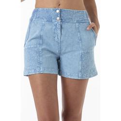 Vêtements Femme Shorts / Bermudas La Cotonniere SHORT PANDORA Bleu