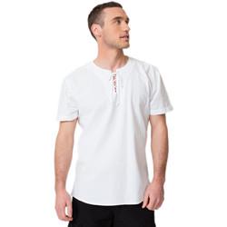 Vêtements Homme Continuer mes achats La Cotonniere TUNIQUE CORDON Blanc