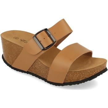 Chaussures Femme Mules Silvian Heach M-08 Taupe