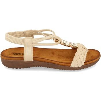 Chaussures Femme Sandales et Nu-pieds Clowse VR1-261 Beige