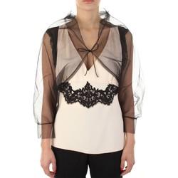 Vêtements Femme Débardeurs / T-shirts sans manche Anna Molinari 24222 Noir