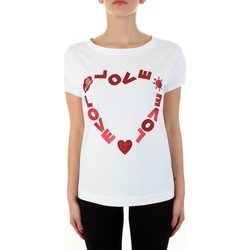 Vêtements Femme T-shirts manches courtes Love Moschino W4F302FE1951 blanc