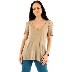 Vêtements Femme T-shirts manches courtes Please t0ay 3156 petra beige