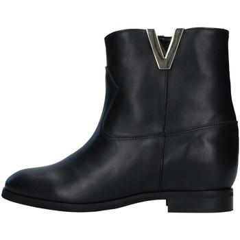 Chaussures Femme Bottines Violet RM130 NOIR