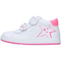 Chaussures Fille Baskets basses Geox B044CC08558 BLANC