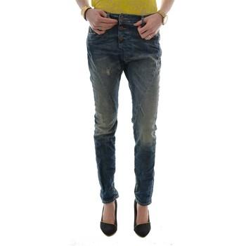 Vêtements Femme Jeans slim Please p78a dc9 denim bleu