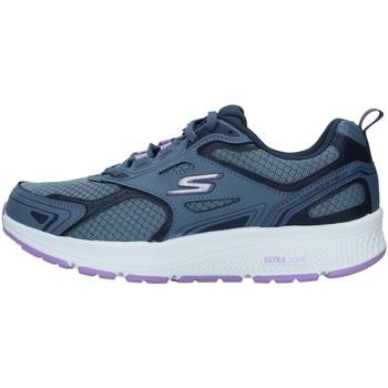 Chaussures Femme Baskets basses Skechers 128075 BLEU