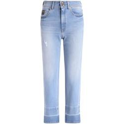 Vêtements Femme Jeans droit Versace Jeans Couture Jeans  en denim bleu Bleu