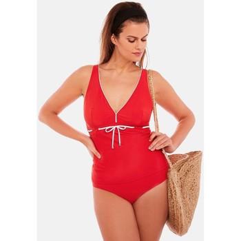 Vêtements Femme Maillots de bain 1 pièce Brigitte Bardot Tankini rouge Sud Rouge