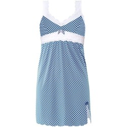 Vêtements Femme Pyjamas / Chemises de nuit Brigitte Bardot Nuisette bleu Beauty Bleu