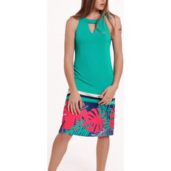 Vêtements Femme Robes Lisca Robe estivale sans manches Tahiti Vert
