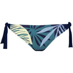 Vêtements Femme Maillots de bain séparables Lisca Bas maillot slip de bain à nouettes Tahiti Bleu