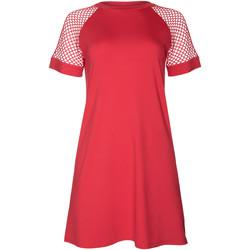 Vêtements Femme Robes courtes Lisca Robe de plage manches courtes Ibiza Corail