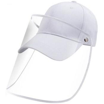 Accessoires textile Casquettes Bdbox Casquette Protection avec visière Adulte Coton PROTECT Blanc Blanc