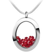 Montres & Bijoux Femme Colliers / Sautoirs Sc Crystal B1522-ROUGE Rouge