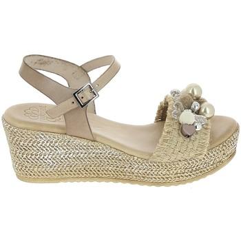 Chaussures Femme Sandales et Nu-pieds Porronet Sandale F12646 Taupe Gris