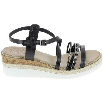 Chaussures Femme Sandales et Nu-pieds Porronet Sandale F12632 Noir Noir