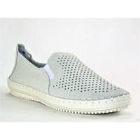 Chaussures Femme Mocassins Suredelle 16859 BLANC GRIS