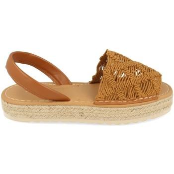 Chaussures Femme Sandales et Nu-pieds Milaya 3S16 Camel