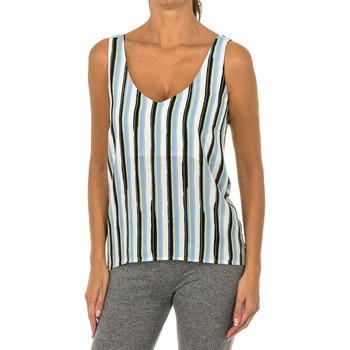 Vêtements Femme Tops / Blouses Armani jeans Débardeur Multicolore