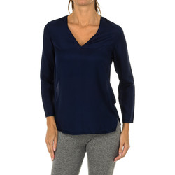 Vêtements Femme Tops / Blouses Armani jeans Blouse à manches longues Bleu