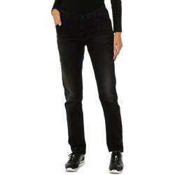 Vêtements Femme Pantalons Armani jeans Pantalon long Noir