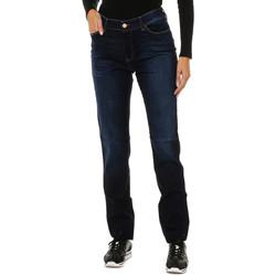 Vêtements Femme Jeans slim Armani jeans Pantalon long Bleu
