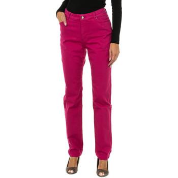 Vêtements Femme Jeans slim Armani jeans Pantalon long Rose